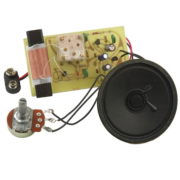 1 IC Speaker AM Radio Kit