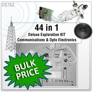 44 IN 1 COMMUNICATIONS LAB KIT (Unboxed)