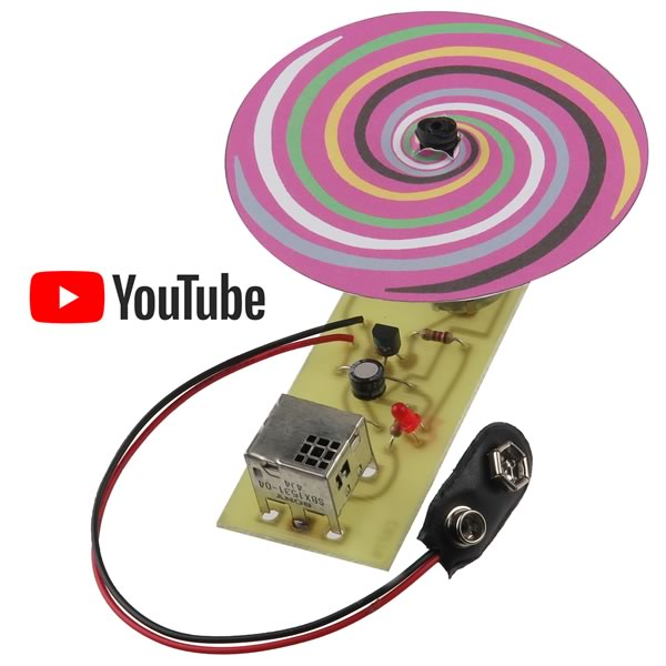 IR Controlled Spinner Kit