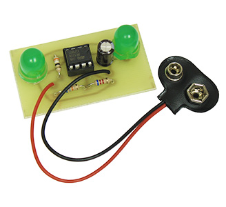 XXL Green LED Flasher Kit