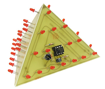 Red Mysterious 3D Pyramid Kit