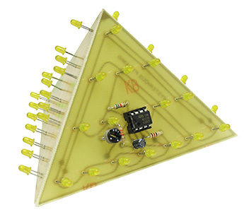 Yellow Mysterious 3D Pyramid Kit