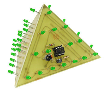 Green Mysterious 3D Pyramid Kit