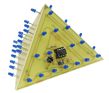 Blue Mysterious 3D Pyramid Kit