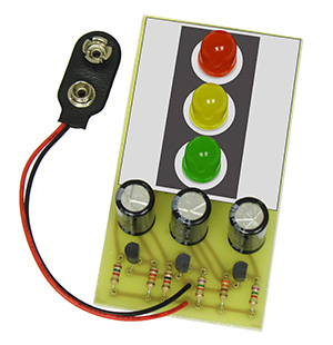 C6810 Giant Led Traffic Light Kit