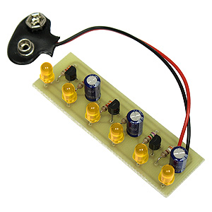 Super LED Chaser Kit - Yellow