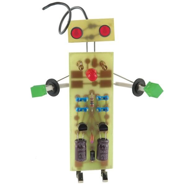 Learn To Solder Robot Kit