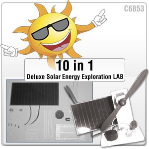 10 in 1 Solar Energy Exploration Lab Kit