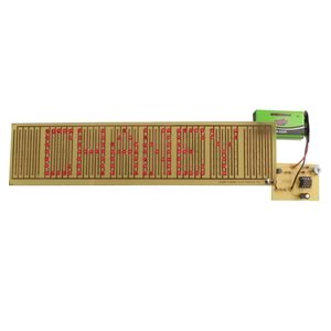 SMD Flashing Nameplate