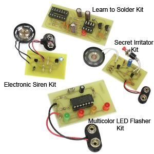 4 in 1 Package A Solder Kits