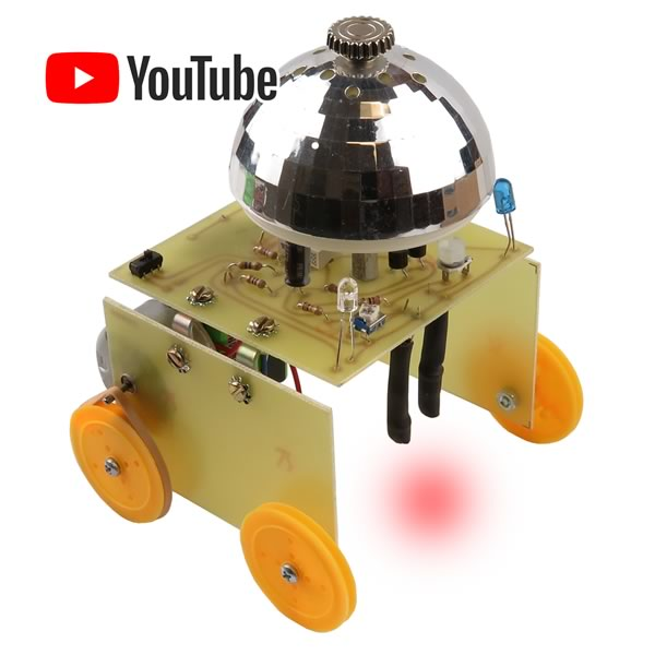 Chrome Dome Line Tracing Robot Kit