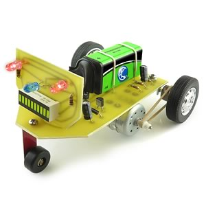 Racing Robot Learn to Solder Kit