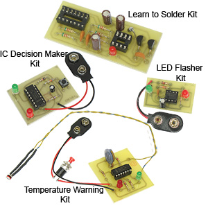4 in 1 Package C Solder Kits