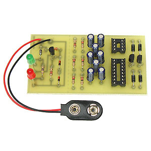 Learn to Solder 9V Battery Tester Kit