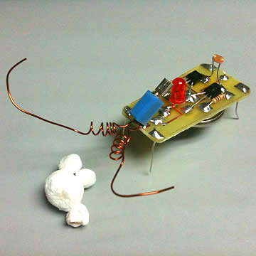 Little Jitterbug Robot Kit