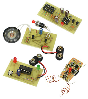 4 in 1 Package E Solder Kits