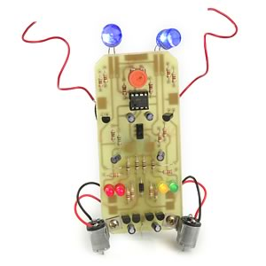 Electric Slider Learn to Solder Robot Kit