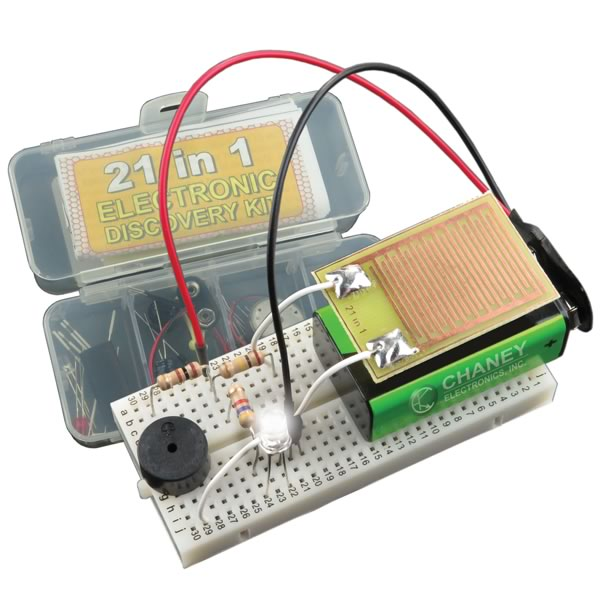 21 in 1 Electronic Discovery Kit