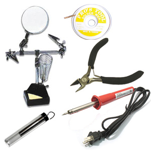 Basic Soldering Tools Package
