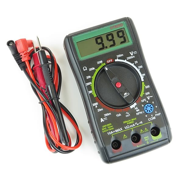 Super Range DT820D Accurate Digital Multimeter