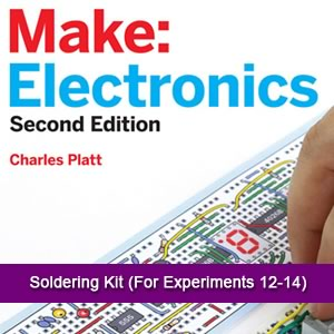 SOLDERING KIT (FOR EXPERIMENTS 12 THROUGH 14)