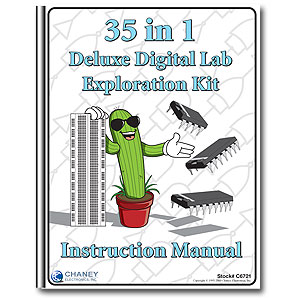 Instruction Manual - for 35 in 1 Digital Exploration Lab (C6721)