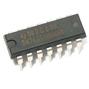 SN74AS1004AN Hex Inverting Driver (TI)
