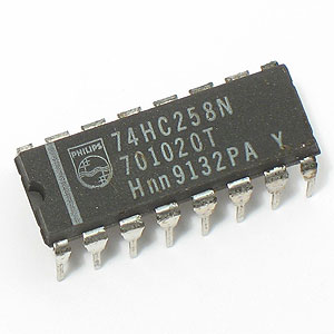 74HC258 Quad Data Selector/Multiplexer