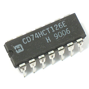 74HCT126 Quad Buffer/Line Driver w/3-State Outputs