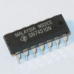 74S10 Triple 3-Input Positive-NAND Gate