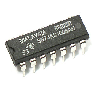 SN74AS1008AN Quad 2-Input Positive-AND Buffer/Driver (TI)
