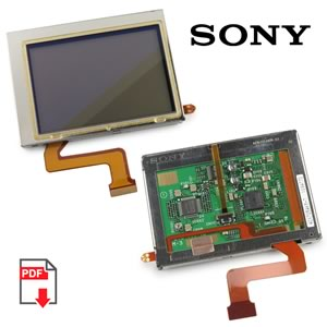 Sony Color LCD Module ACX705AKM-7