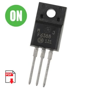 MJF6388 Power 10A 100V NPN Power Transistor (On Semi)