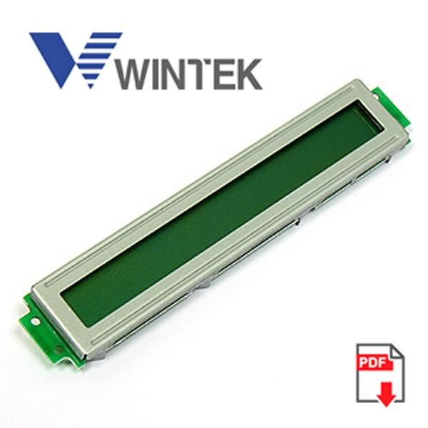 Wintek 1 x 24 Character LCD Display Module