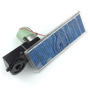 Powerful Gearmotor and Solar Panel Set