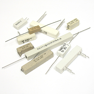 (Assortment of 25) Sandstone Power Resistor Assortment