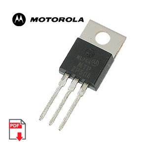 MTP2P50E Power MOSFET 2 Amps, 500 Volts (Motorola)