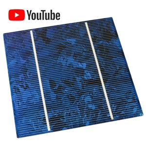 Giant 5 Square 2.5 Amp Silicon Solar Cell