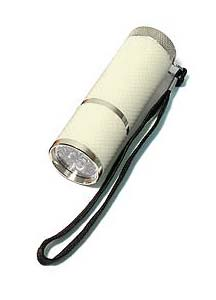 Our Handiest Glow in the Dark Flashlight  - White
