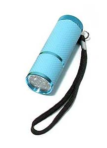 Our Handiest Glow in the Dark Flashlight  - Blue