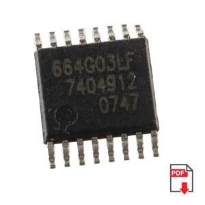 3-3.6V HDTV Clock Synthesizer by IDT Part# ICS664-03
