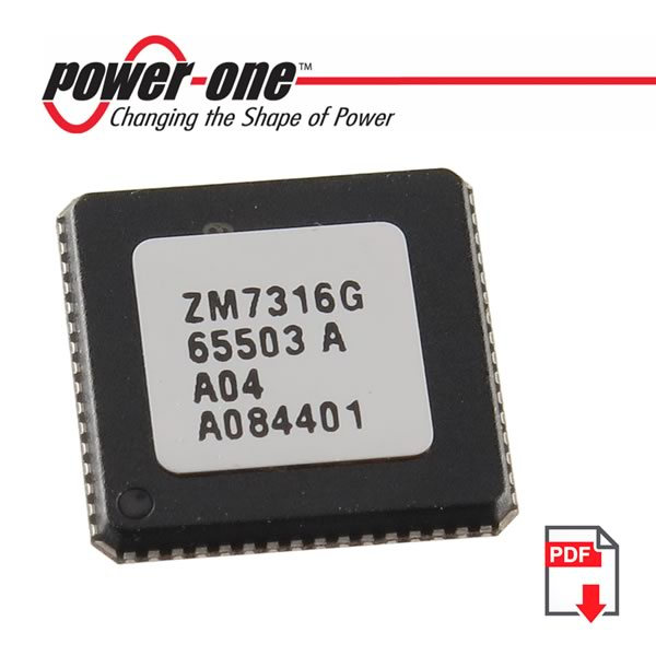 3V-3.6V Programmable Digital Power Manager (Part# ZM7316G)