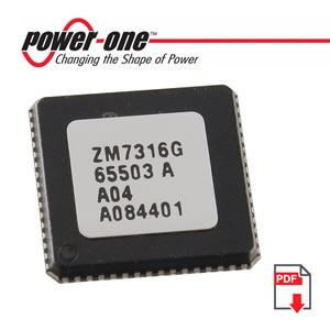 3V-3.6V Programmable Digital Power Manager ZM7316G