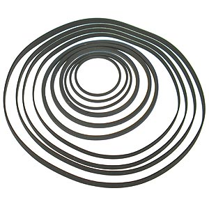(Pkg of 10) Cassette Tape Player Drive Belts