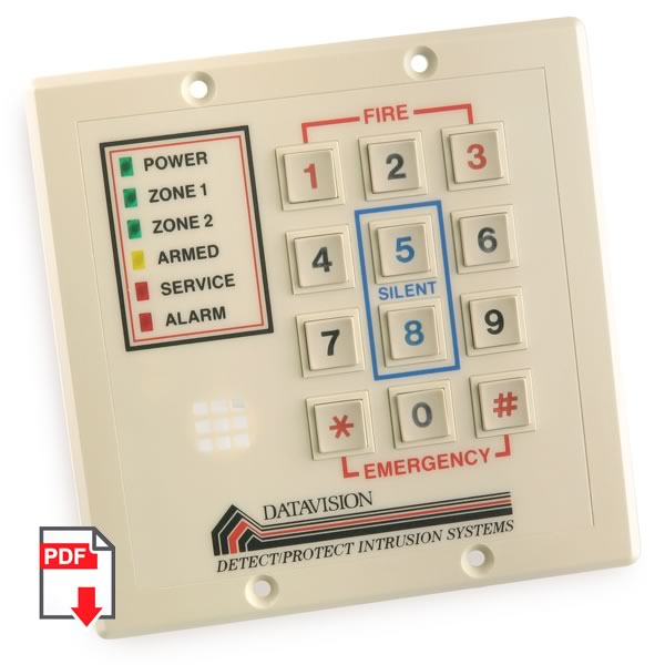 SALE - (Pkg 5) Professional Alarm Keyboard