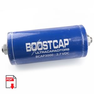 SALE! - Maxwell BCAP 3000E 3000 Farad 2.7VDC BOOSTCAP (Used)