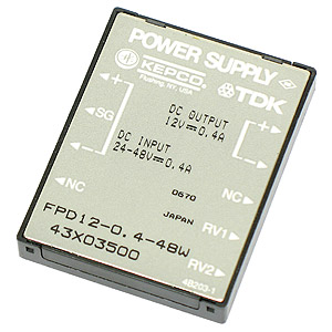 (Pkg 2) Kepco TDK Power Supply Model FPD12-0.4-48W