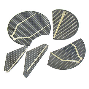 Easy Solder Solar Cell Pieces