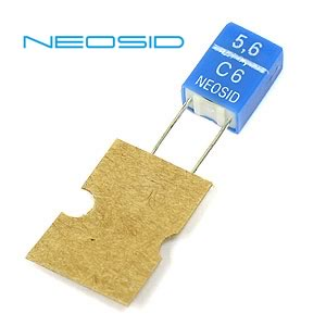 5.6uH Radial Inductor Type Sd75 by Neosid (Pkg of 4)