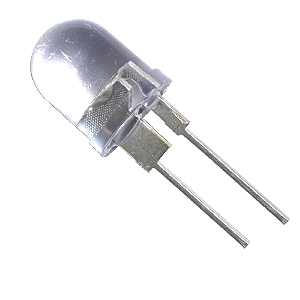 (Pkg 4) 5 Chip 220,000MCD Warm White 10mm LED